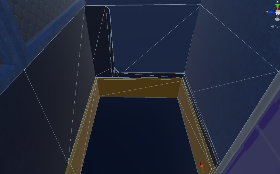 Transistion tiles